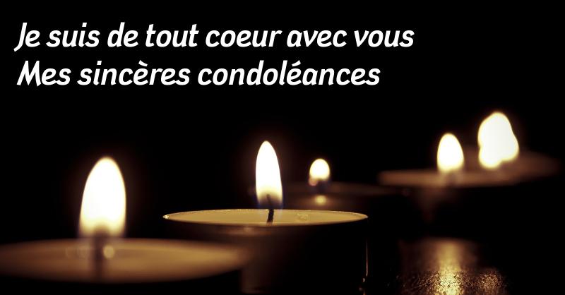 80 Messages De Condoléances Des Obsèques