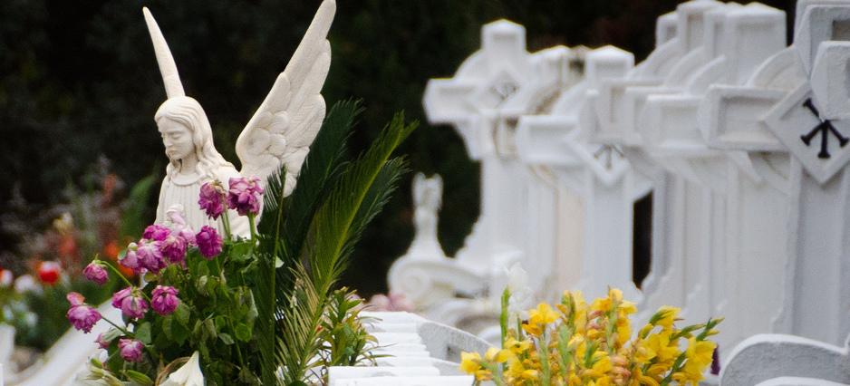 Fleurir Une Tombe Des Obseques